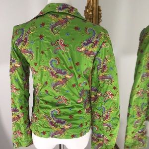JOHNNY WAS Embroidered jacket/coat/blazer S
